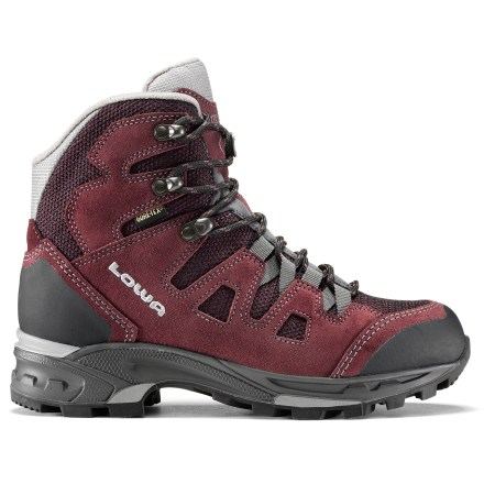 Camp and Hike The lightweight, waterproof Lowa Khumbu II GTX Mid women's hiking boots are well-suited for fast-paced pursuits across rugged terrain, supplying plenty of comfort and support to keep feet happy. - $124.83