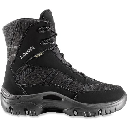 Camp and Hike The lightweight Lowa Trident GTX II women's winter boots offer a comfort rating down to 5degF and great all-around, waterproof performance in winter conditions. - $210.00