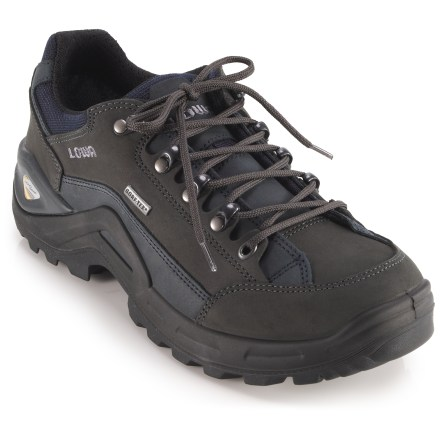 Camp and Hike Lowa Renegade II GTX Lo hiking shoes boast great versatility in a small, lightweight and waterproof design that excels on day hikes and short, light-and-fast weekend backpacking trips. - $210.00