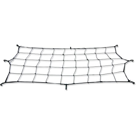 Ski Use the Lucky Bums Utility Sled Cargo Net with the Lucky Bums Utility Sled to quickly secure a load. Tough elastic cording with a nylon covering holds down bulky loads and prevents jostling. Lucky Bums Utility Sled sold separately. - $13.93