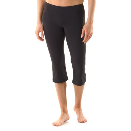 Fitness These formfitting lucy Lotus Power capri pants keep you covered through all your asanas, from lotus pose to downward facing dog. - $38.83