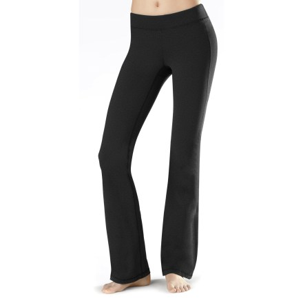 Fitness Designed by active women, the very comfortable lucy Perfect Core pants excel at the yoga studio. Nylon and spandex fabric wicks moisture, dries quickly and moves with you during difficult poses. Mesh panels enhance comfort, and smooth seams won't chafe during activity. Gusseted inseam enhances freedom of motion. The lucy Perfect Core pants feature a small pocket for a key or debit card. - $23.83