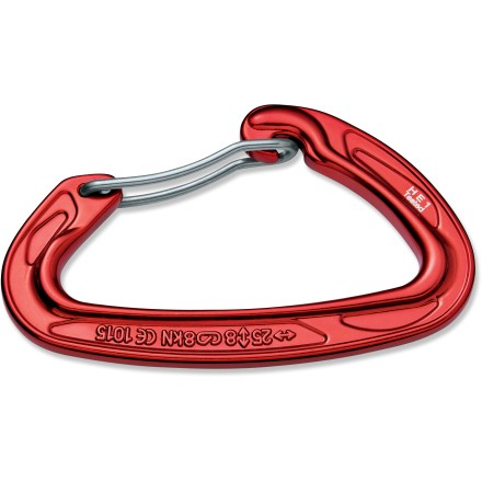 Climbing Utilizing I-beam construction, the Mad Rock Ultralight bent wire gate carabiner maintains a light weight without sacrificing size or strength. - $5.95
