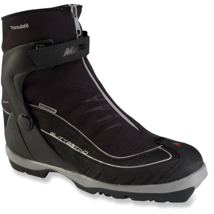 Ski Steer your skis through untracked powder snow with the rugged Madshus Glittertind BC backcountry touring boots. - $74.93