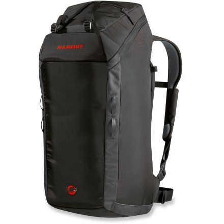Climbing The Mammut Neon Gear 45 climbing pack offers an intelligent transport solution for outdoor or indoor climbers with a built-in rope bag and large opening for loading bulky gear. - $109.93