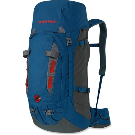 Climbing The robust Mammut Trion Guide 45 + 7 pack offers a variety of packing options and outstanding wearing comfort. It covers the needs of the 4-season climber on single- or multiday tours. - $159.93