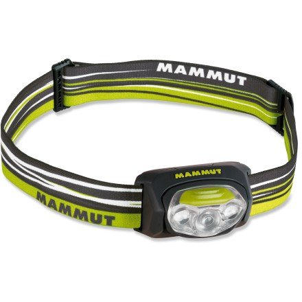 Camp and Hike Don't let the small size fool you. The Mammut T-Peak headlamp has a bright beam that will light up the night on glacier climbs and backpacking trips. - $26.83