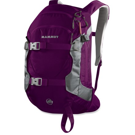 Ski Ideal for done-in-a-day ski tours or just a day on the slopes, the women's Mammut Niva Element 23L snow pack has all the features to haul your essential mountain gear. - $79.93