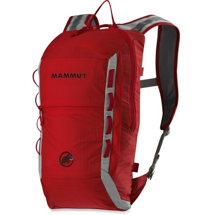 Climbing The Mammut Neon Light 12 climbing pack is light and packs up small. Its short and slim body and gear loops make it ideal for climbing rock or ice. - $49.93