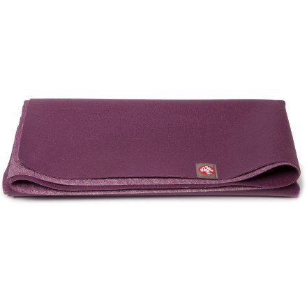 Fitness Take your yoga practice on the road with the Manduka eKO SuperLite(R) Travel Mat yoga mat. It weighs only 2 lbs. and can be folded to fit in small travel spaces. - $40.00