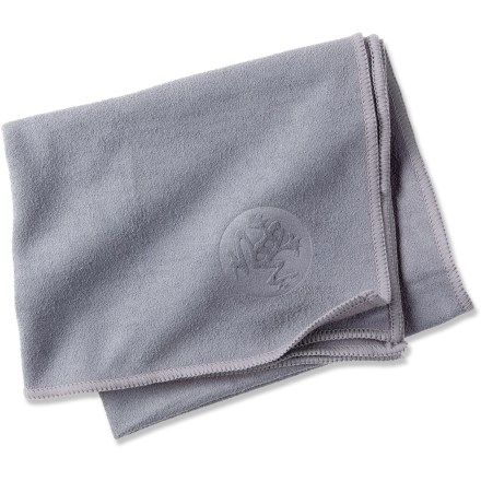 Camp and Hike The Manduka eQua hand yoga towel is the perfect size for wiping sweat off your hands and face, or for placing on your exercise or yoga mat for added traction. - $16.00