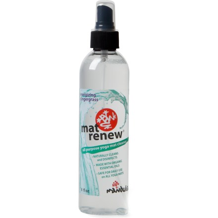 Fitness Keep your yoga mat (sold separately) clean and smelling fresh with Manduka Mat Renew(R) yoga mat wash. - $11.00