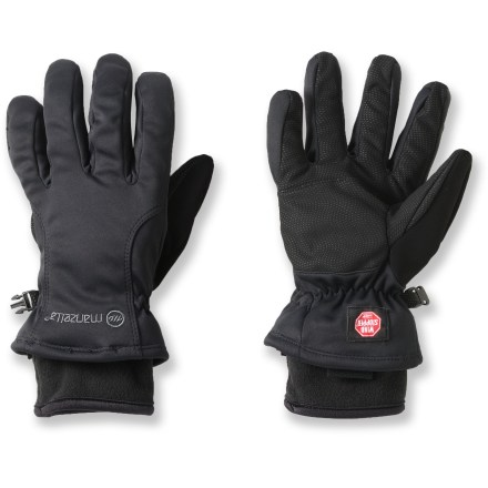Fitness The Manzella Adventure 100 gloves keep your hands functioning in a wide range of conditions while you're hiking, mountain biking, climbing or trekking. - $50.00