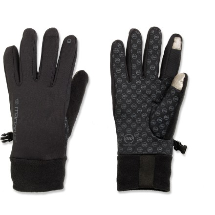 Surf Pull on the Manzella Power Stretch TouchTipTM gloves for toasty warmth while you surf the web and listen to tunes on your touch-screen smart phone or digital music player. - $6.83
