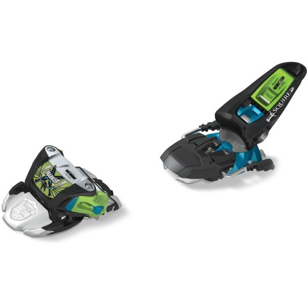 Ski Offering a highly stable platform, the Marker Squire B90 alpine ski bindings bring lightweight versatility to freeriders. - $112.93