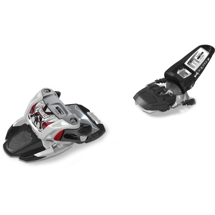 Ski Offering a highly stable platform, the Marker Squire B110 alpine ski bindings bring lightweight versatility to freeriders. - $75.93
