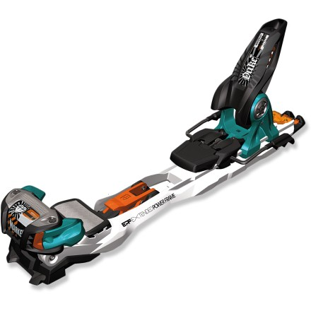 Ski The Marker Duke EPF randonee bindings won't limit the type of terrain you can ski. The tough Dukes are built to handle high-speed sidecountry adventures with cliff jumps and backcountry bumps. - $178.93
