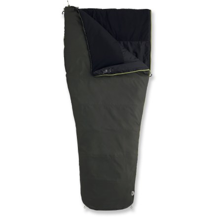 Camp and Hike Durable and water-resistant, the Marmot Mavericks 30 Sleeping Bag brings cozy comfort to your 3-season road trips and family campouts. - $53.93