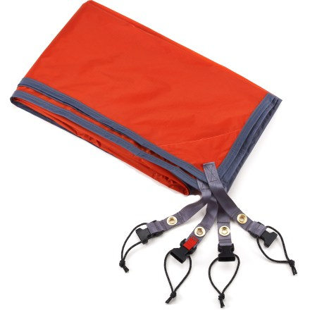 Camp and Hike Use this lightweight nylon tarp under your Marmot Astral 3P tent to protect its floor from abrasion and wear. - $44.93