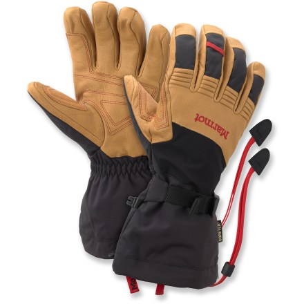 Ski The name says it all-The waterproof Marmot Ultimate ski gloves have all the features you need to keep you happy while slopeside. - $175.00
