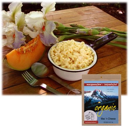 Camp and Hike A favorite of everyone! Macaroni and cheese can please even the finickiest of little hikers. - $9.50