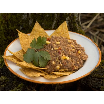 Camp and Hike MaryJanesFarm Organic Bare Burrito has a spicy blend of rice, beans, corn and cheese that is great with chips or eaten straight out of the pouch. - $9.75