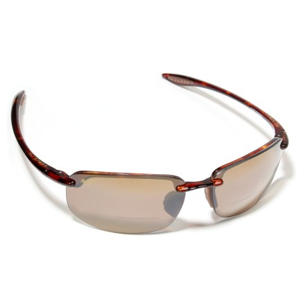 Entertainment Great for reading at the beach, these Maui Jim Ho'okipa sunglasses protect your eyes from the sun and feature built-in bifocal lenses. - $229.00