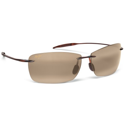 Entertainment The lightweight Maui Jim Lighthouse polarized sunglasses protect your eyes and enhance your view with vibrant colors and polarized technology. - $169.00