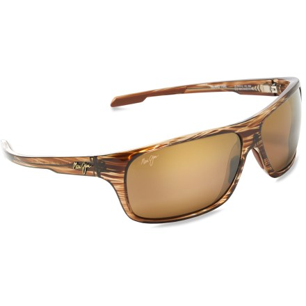Entertainment Maui Jim Island Time polarized sunglasses wipe out glare and 100% of harmful UV rays for a distortion-free view of whatever beautiful surroundings you find yourself in. - $229.00