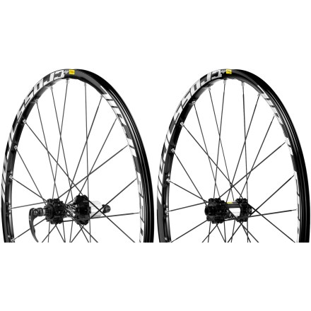 MTB Mavic Crosstrail Disc wheelset boasts a broad range of compatibility along with a sturdy, light and stiff build to ensure excellent trail performance. - $299.83