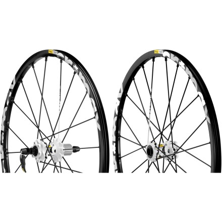 MTB Ready to shred, the UST tubeless-compatible Mavic Crossmax ST Disc 26 in. wheelset is stiff, light and responsive for excellent trail performance. - $479.93