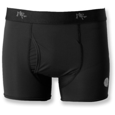 The Max Ride Lightweight Stretch Sports briefs are made for athletes looking for high performance from their underwear. Polyester/spandex blend fabric offers 4-way stretch for comfort and mobility; fabric is quick drying and moisture wicking. Flatlock seams reduce chafing and increase durability. Special buy. - $8.83