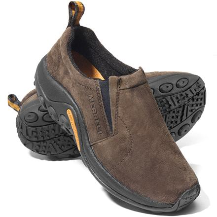 These after-sport slip-on Merrell Jungle Mocs pamper and support your feet after a hard day of outdoor play. - $80.00