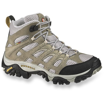 Camp and Hike These highly breathable Merrell(R) Moab Ventilator mid-height light hikers work hard on all your active warm-weather endeavors. - $87.93