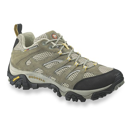 Fitness These highly breathable Merrell Moab Ventilator light hikers work hard on all your active warm-weather endeavors. - $79.93