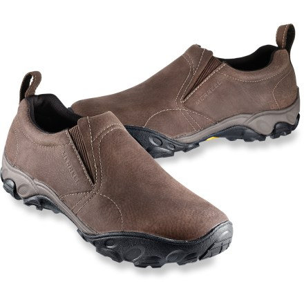 Slip into everyday versatility and comfort in the Merrell Olmec shoes, which feature recycled mesh linings, rich leather uppers and great cushioning support. - $49.83