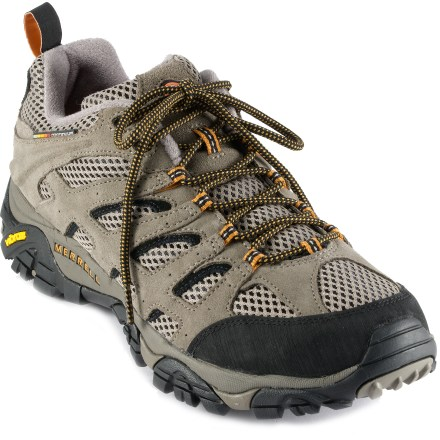 Fitness These highly breathable Merrell Moab Ventilator hiking shoes work hard on all your active warm-weather endeavors. - $79.93