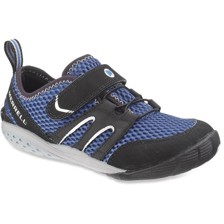 Camp and Hike The Merrell Trail Glove boys' cross-training shoes offer young ones the flexibility and performance of a minimalist design so they can wander freely! - $14.83
