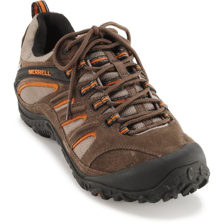 Fitness Whatever your destination, the Merrell Chameleon 4 Ventilator Gore-Tex(R) cross-training shoes will take you there in a lightweight, low-profile design built for logging miles on the trail. - $35.83