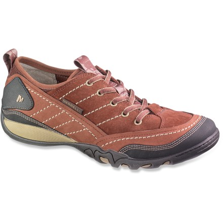 Adventure-ready, the Merrell Mimosa Lace shoes offer rugged construction, casual style and good support for your daily jaunts, be they around town, abroad, or somewhere between. - $26.83