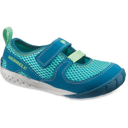 Entertainment The Merrell Pure Glove girls' shoes offer barefoot-inspired performance with added style and a glovelike fit. - $14.83