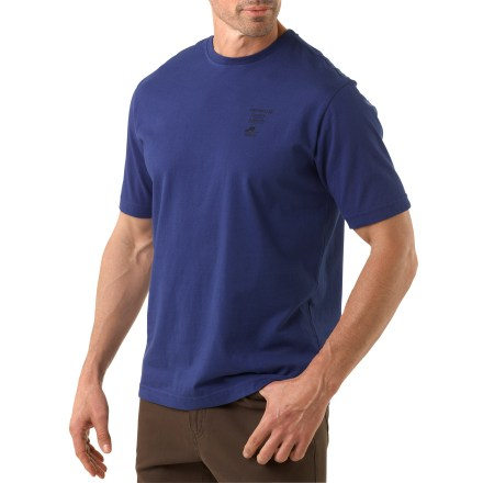 The Merrell Vintage Parks T-shirt serves as a reminder that the outdoors is for everyone. Made from certified 100% organic cotton for breathable comfort and easy care. Each color of the Merrell Vintage Parks T-shirt features a different back graphic that depicts a national park. - $22.93