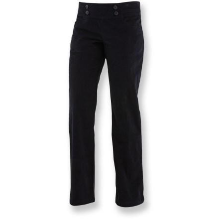 Camp and Hike The Merrell Albia Corduroy pants grant you simple style for everyday occasions. - $24.73