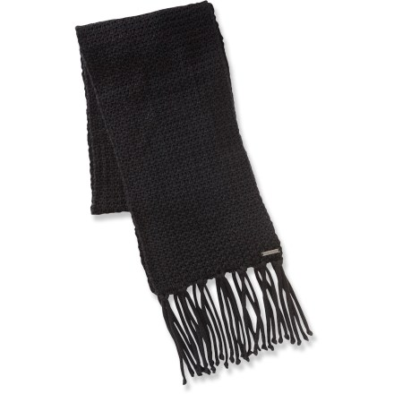 Ski The Merrell Cecelia scarf wraps up in warmth and class for cold and snowy forays. Cozy acrylic keeps you warm without being itchy or uncomfortable. Closeout. - $15.83