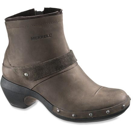 Merrell Luxe Mid boots feature great looks, slip-on convenience and all-day comfort to keep you going throughout the day. - $71.83