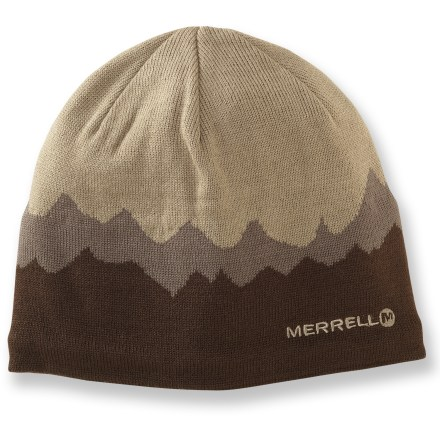Ski The Merrell Grumman hat features a fun design and great fit. Warm polyester fabric features a polyester fleece interior headband for warmth and softness against skin. Closeout. - $16.93
