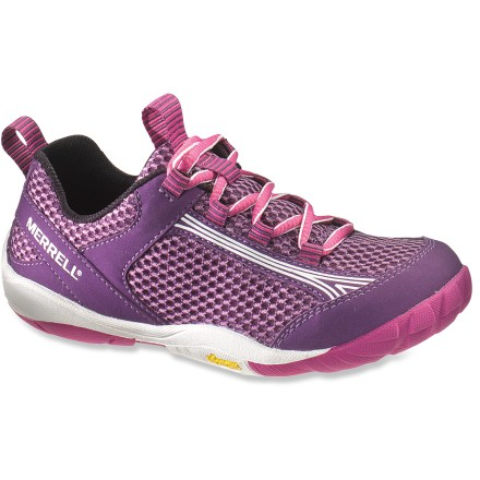 Camp and Hike These girls' Merrell Flux Glove multisport shoes feature a minimalist design to offer enhanced freedom of movement with versatile protection and support. - $15.83