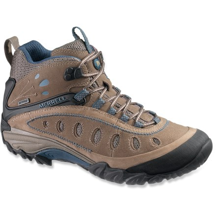 Camp and Hike The Merrell Chameleon Arc 2 Mid Waterproof hiking boots are lightweight, yet ready to handle tough terrain. - $92.73