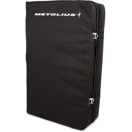 Climbing Bring the Metolius Bailout crash pad along to cushion your falls while you work a boulder problem. - $84.93