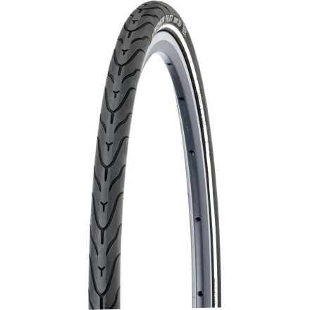 Fitness The Michelin Pilot Sport foldable clincher bike tire offers good, sporty performance for urban riding, commuting or bike-path exploring. - $21.93